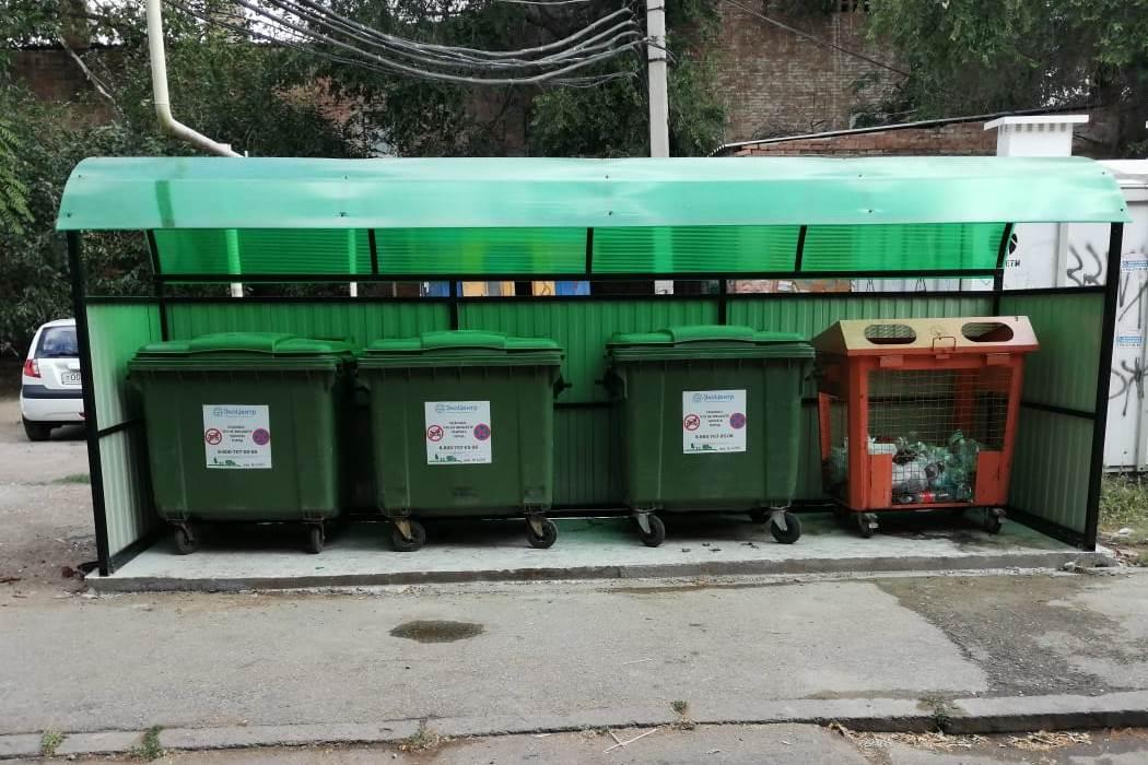Региональный оператор благоустроил в Астрахани 50 контейнерных площадок