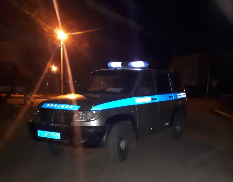 Наркоман в тонированной «девятке» без номеров не смог скрыться от астраханского полицейского