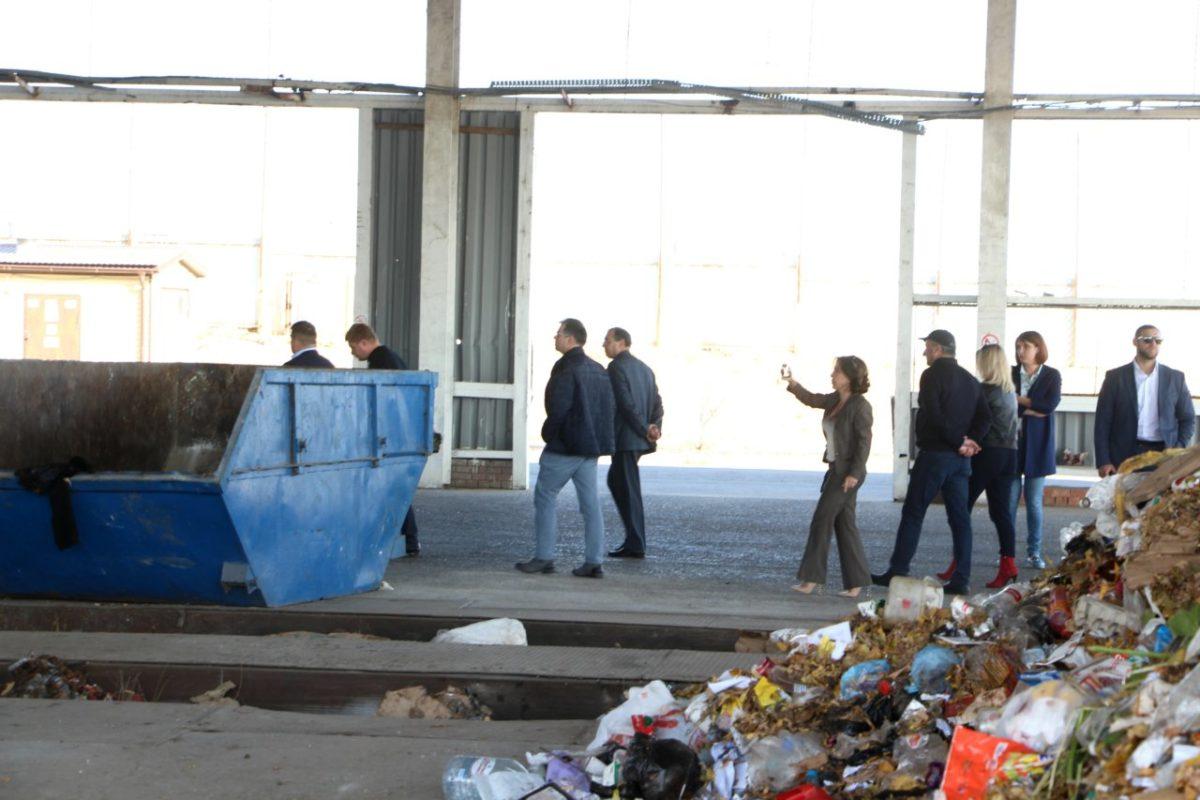 Астраханский мусоросортировочный комплекс посетила немецкая делегация