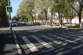 В Астрахани отремонтировали улицу 28-й Армии