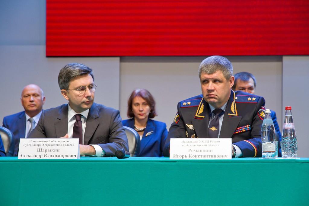 В Астрахани торжественно представили нового начальника регионального УМВД