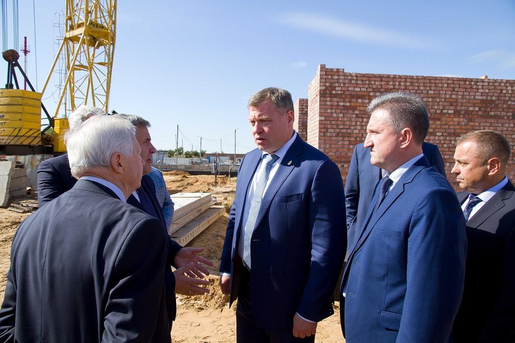 Игорь Бабушкин продолжает держать на контроле строительство психоневрологического интерната