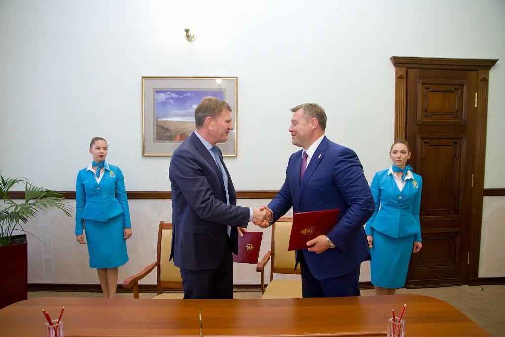 Подписано соглашение о намерениях по созданию ОЭЗ в порту Оля