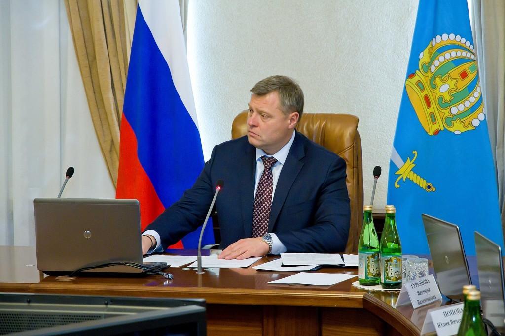 Астраханские власти обсудили проблемы при освоении денег на нацпроекты