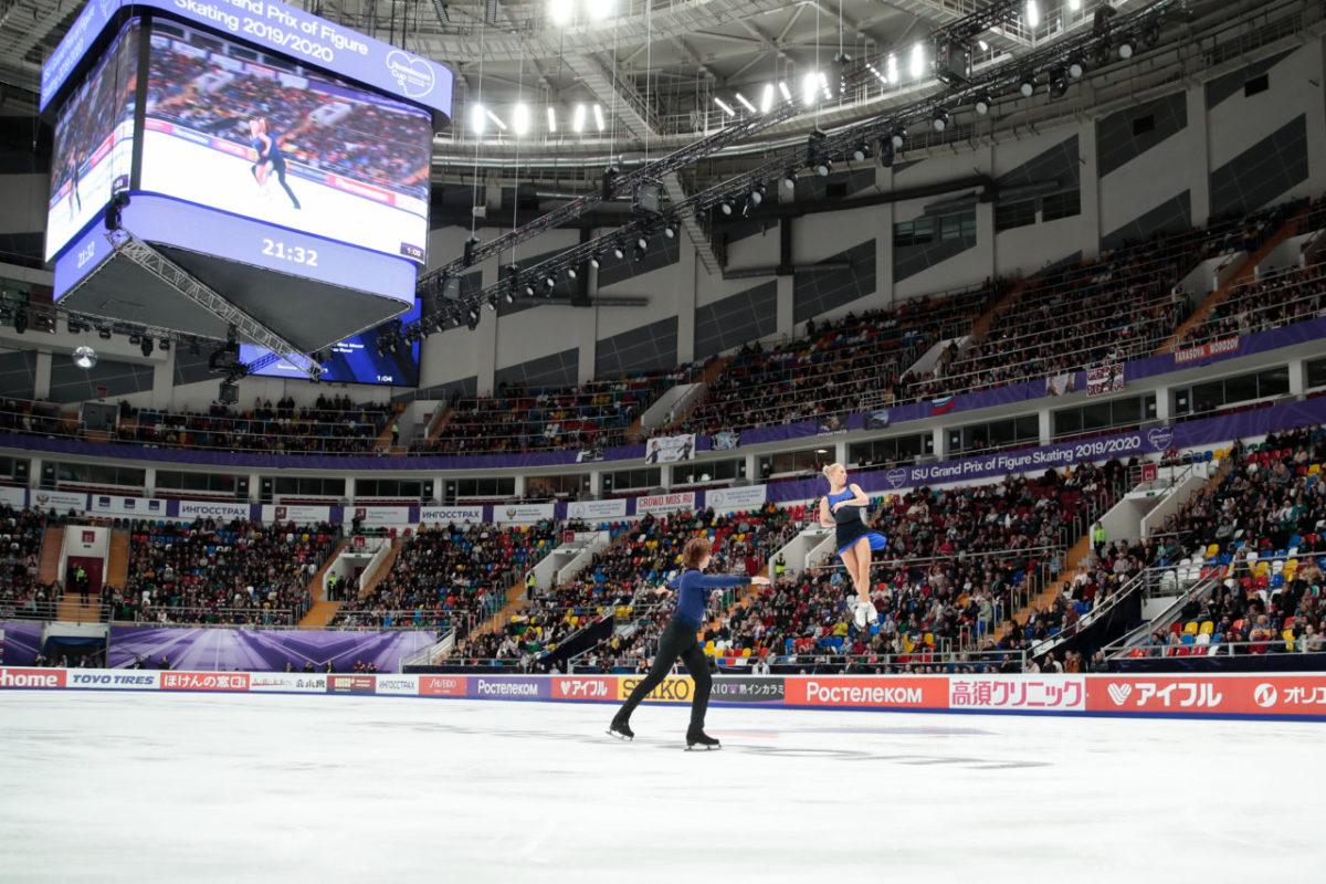 «Ростелеком» пригласил участников «Звездной дорожки» и их тренеров на единственный в России международный турнир по фигурному катанию