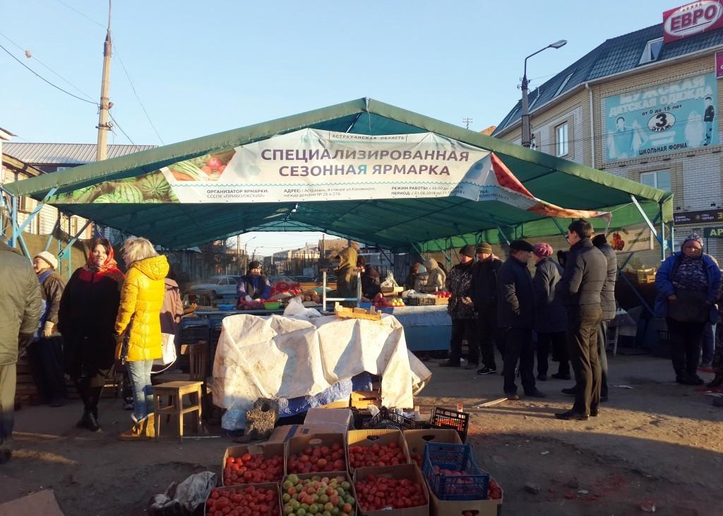 Администрация Астрахани: торговцев-нелегалов стало меньше