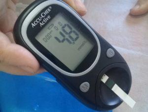 В акции «РЖД-Медицина против диабета» приняли участие более 100 человек