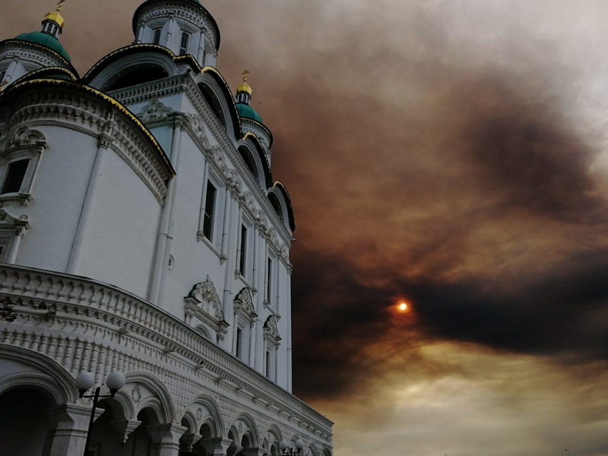 Астраханцы обратились в Гринпис за помощью от постоянного смога