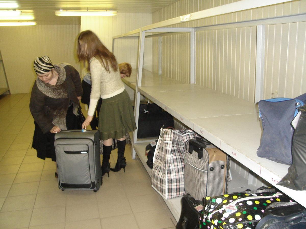 Автошины и личные вещи можно сдать на хранение на астраханский вокзал