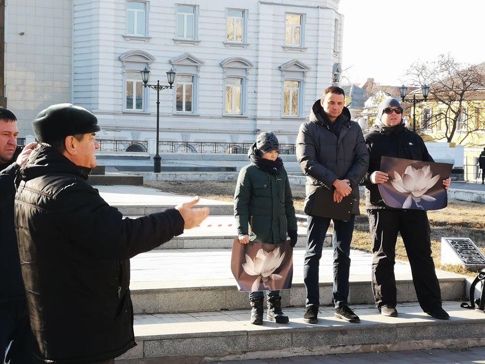 Астраханцы митинговали за чистый воздух