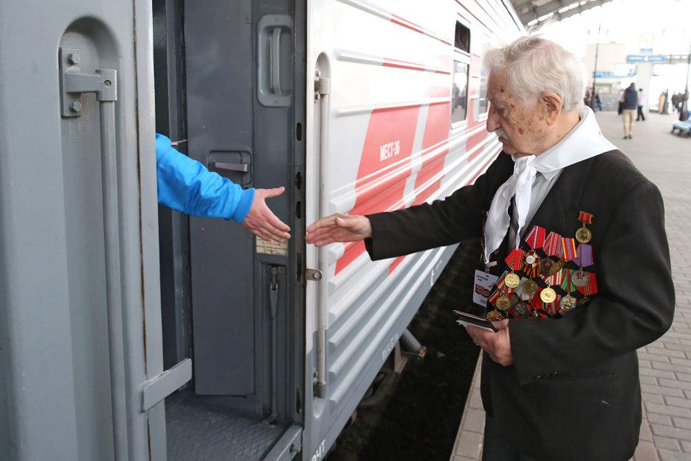 С 1 января ветеранам Великой Отечественной предоставят безлимитный проезд в поездах