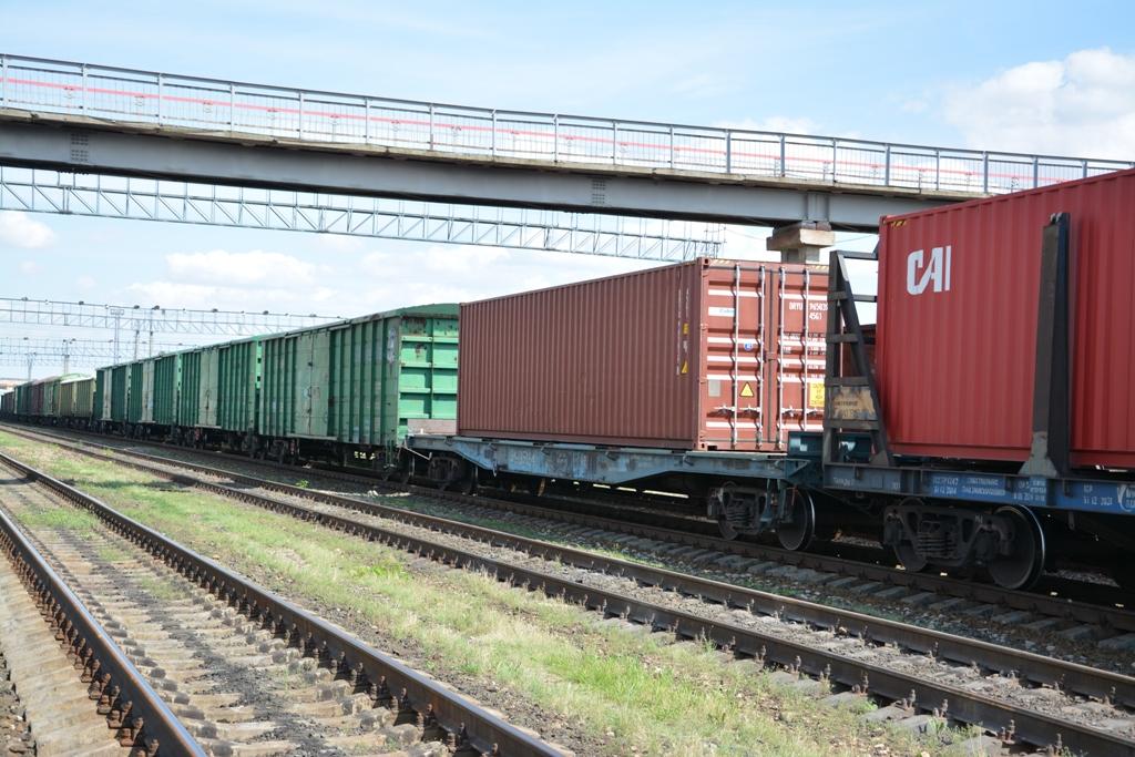 Отправление груженых контейнеров на Приволжской железной дороге выросло на 22%