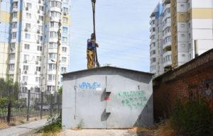 Администрация Ленинского района сообщила адреса всех подлежащих вывозу гаражей