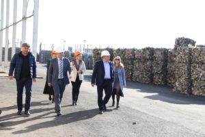 Советник губернатора Астраханской области посетил мусоросортировочный комплекс