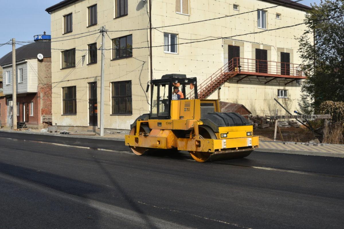 Обновленная улица Каховского готова на 90%