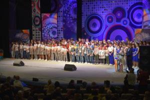 Лига КВН «Астрахань. Школьная» при поддержке ЛУКОЙЛА открыла новый сезон