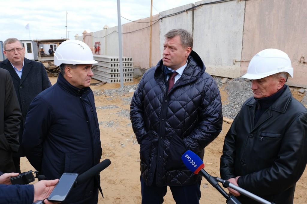 Игорь Бабушкин снова призвал оперативно осваивать средства на интернат в Нариманове