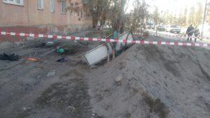 Рухнувший балкон на улице Яблочкова стал основанием для уголовного дела