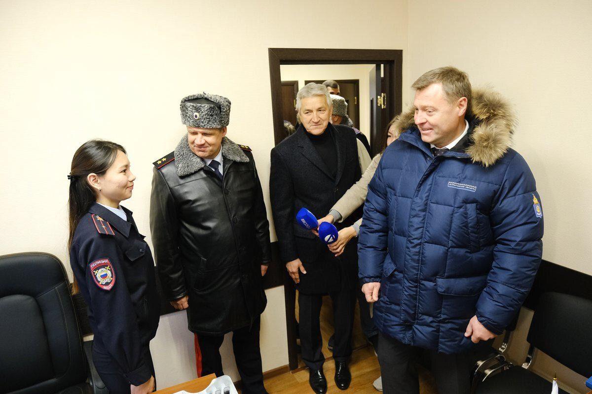 Игорь Бабушкин торжественно открыл новый пункт полиции