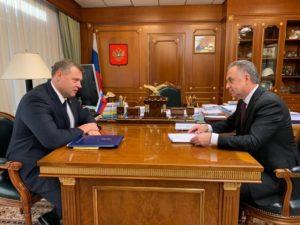 Мутко поддержал намерения астраханского губернатора