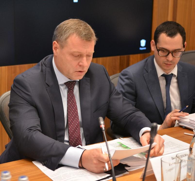 Игорь Бабушкин доложил об ускоренном развитии Астраханской области