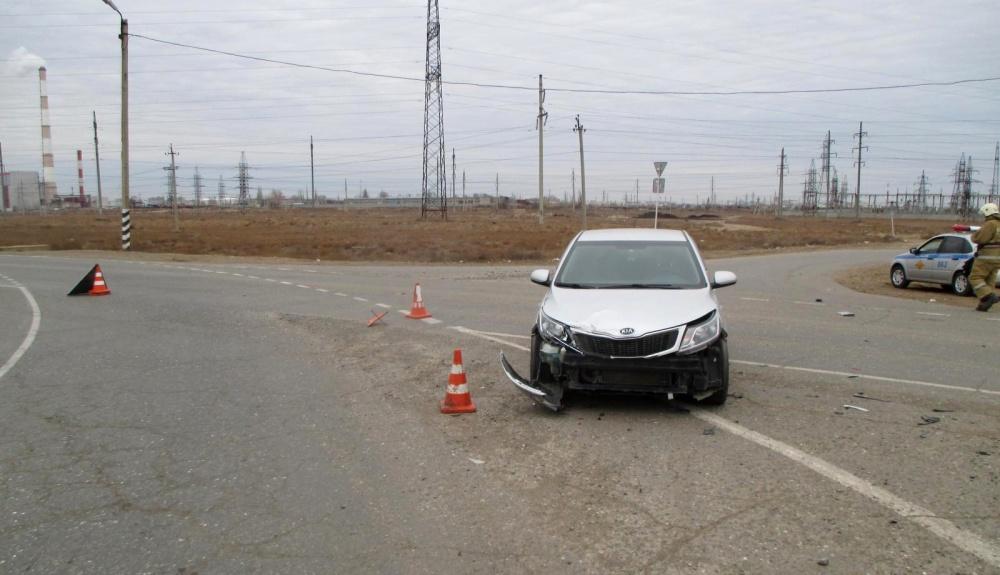 В ДТП под Астраханью пострадал подросток