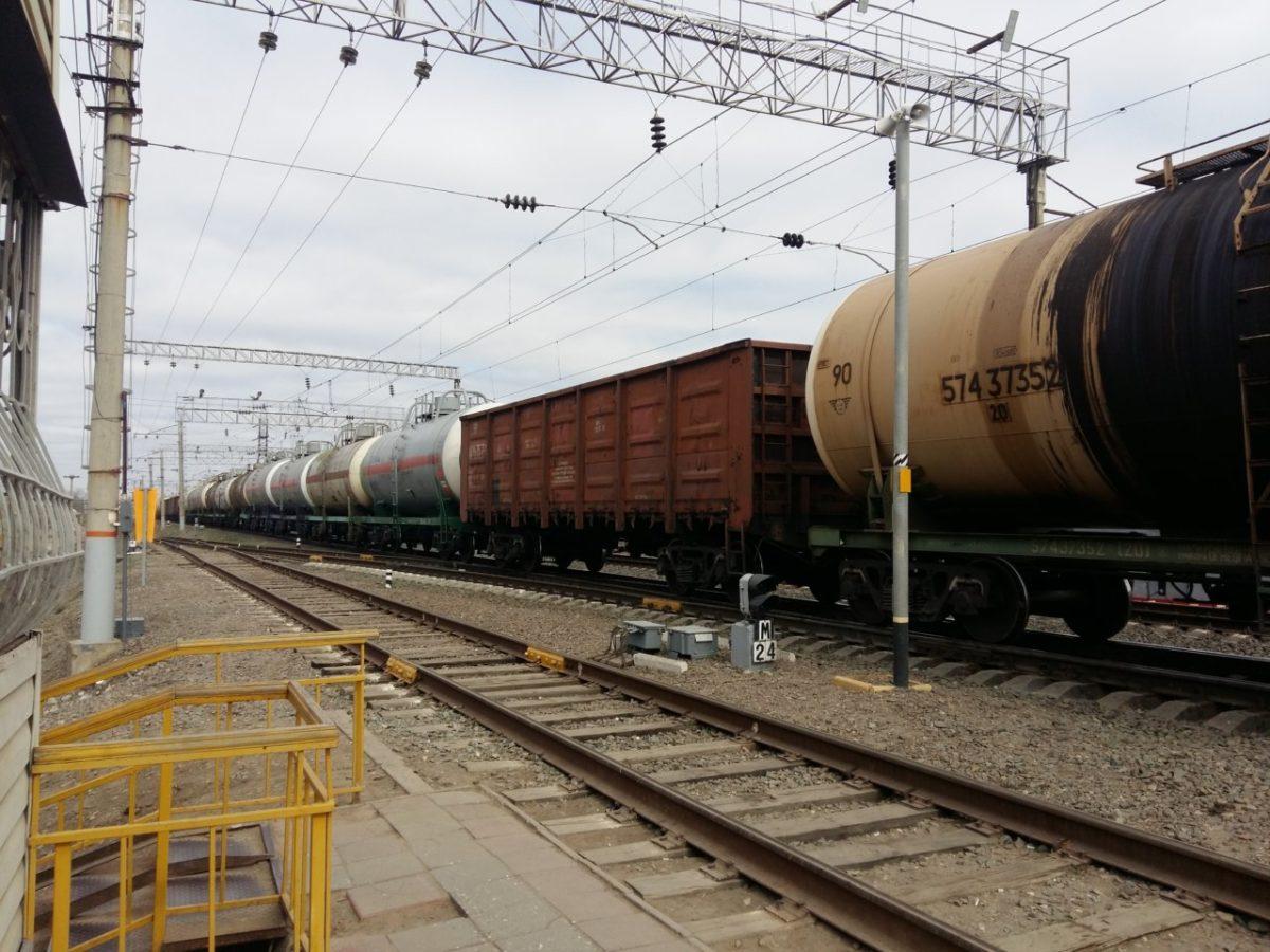 Погрузка в Астраханском регионе Приволжской железной дороги составила 8,3 млн тонн