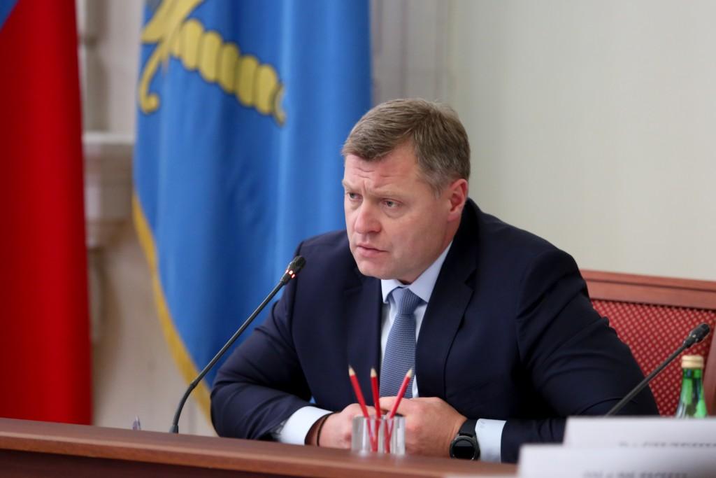 Губернатор Игорь Бабушкин встретится с президентом страны