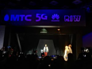 МТС провела междугородний двусторонний голографический телемост на сети 5G
