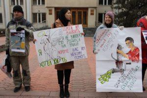 Астраханские зоозащитники потребовали перестать издеваться над собаками