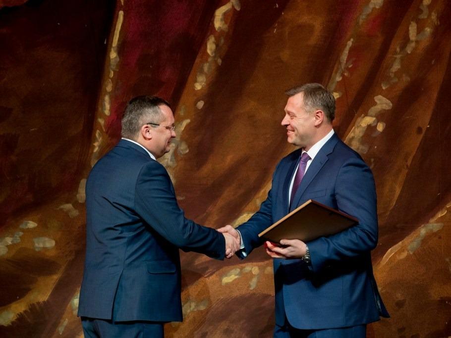 Игоря Мартынова отметили грамотой Совета Федерации