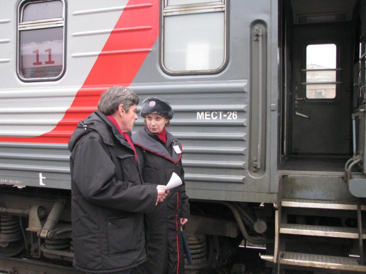 Поезд Москва-Астрахань с воскресенья значительно ускорится