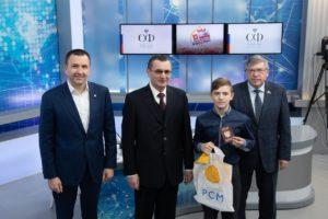 Двое астраханцев за победу в конкурсе видеороликов о родном крае получили паспорта в Москве