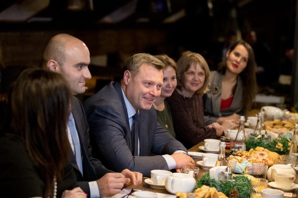 Игорю Бабушкину понравились предложения деловых женщин