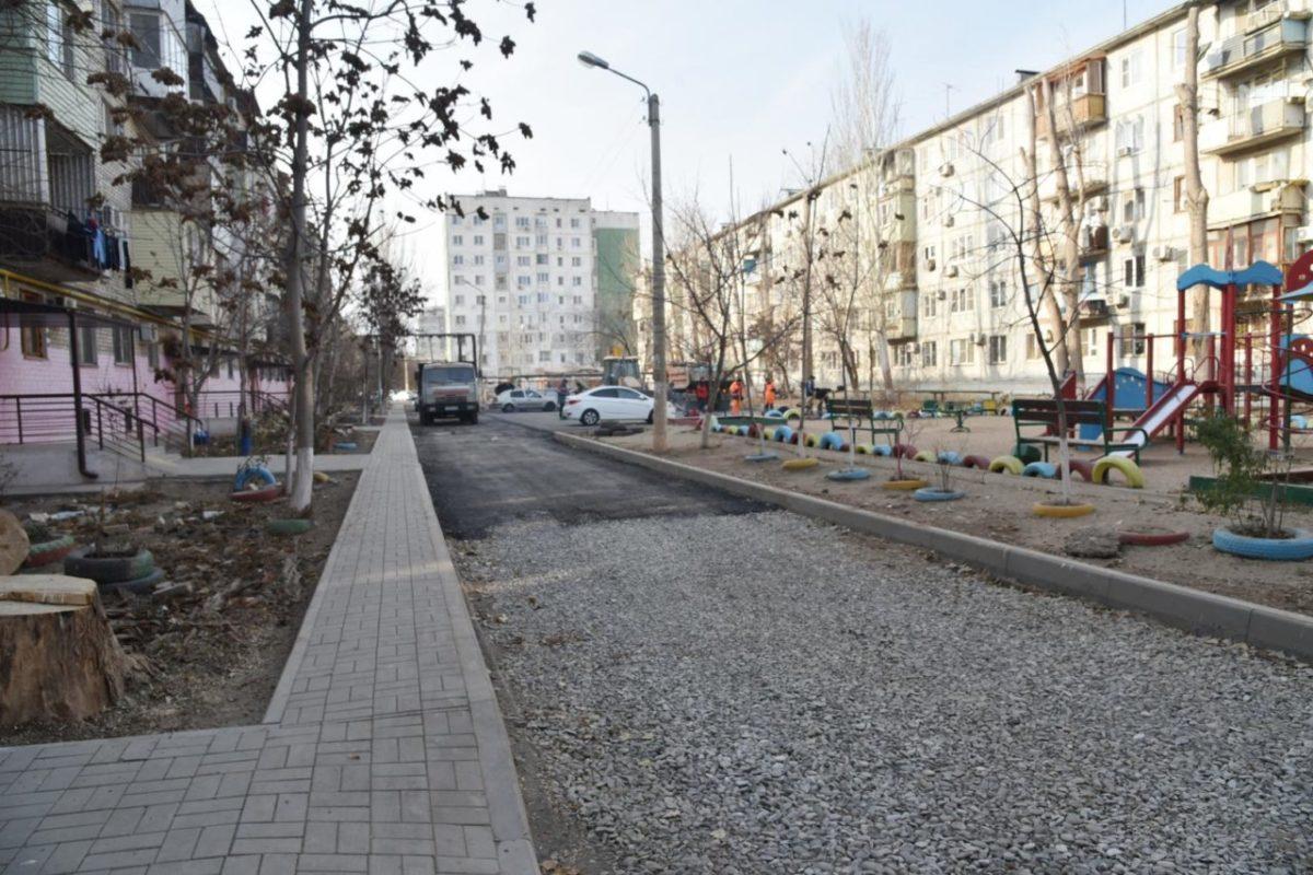 В Астрахани за год отремонтировали сорок дворов