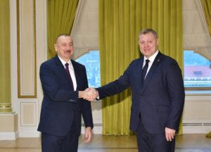 Игорь Бабушкин сделал президенту Азербайджана ряд предложений