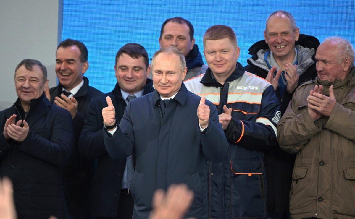 Владимир Путин потребовал улучшить жизнь россиян