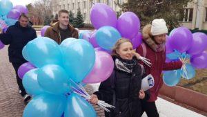 Астраханских студентов поздравили с праздником и призвали защищать свои права