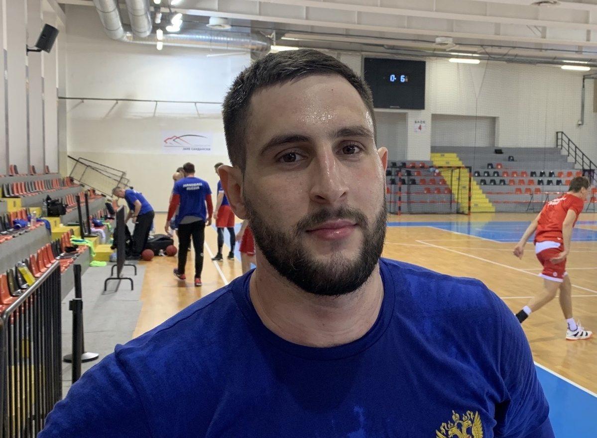 Астраханский гандболист сыграет на чемпионате Европы