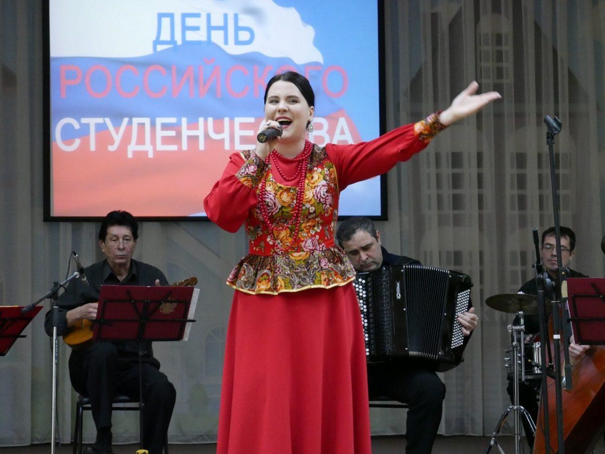 В Приволжском районе прошел концерт ко Дню студентов