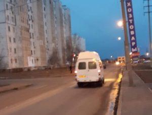 Астраханцу чуть не досталось от водителя маршрутки