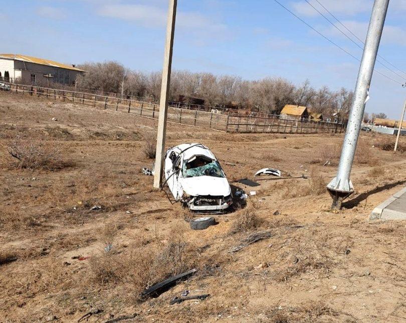 В Астраханской области в ДТП пострадали мужчина и двухлетний малыш