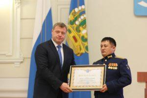 Игорь Бабушкин поздравил военных с праздником