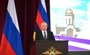 Путин призвал МВД не допускать произвола