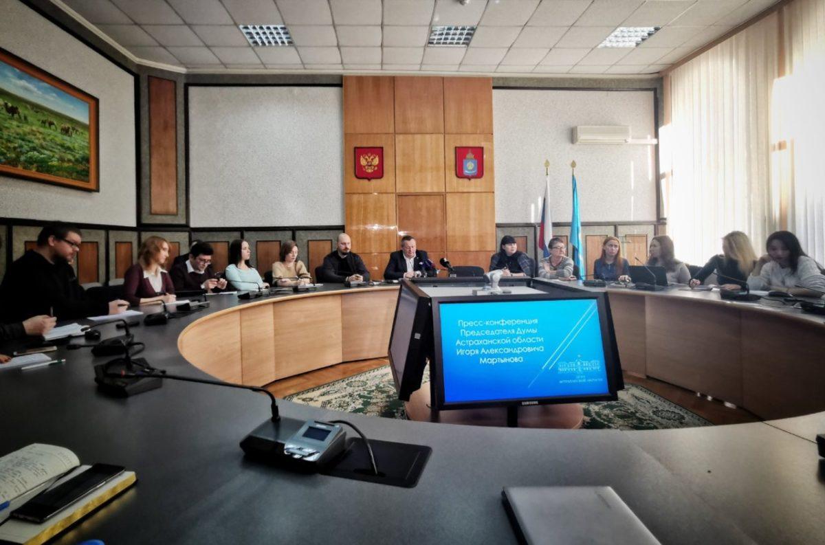 Игорь Мартынов высказался о критике в астраханских телеграм-каналах