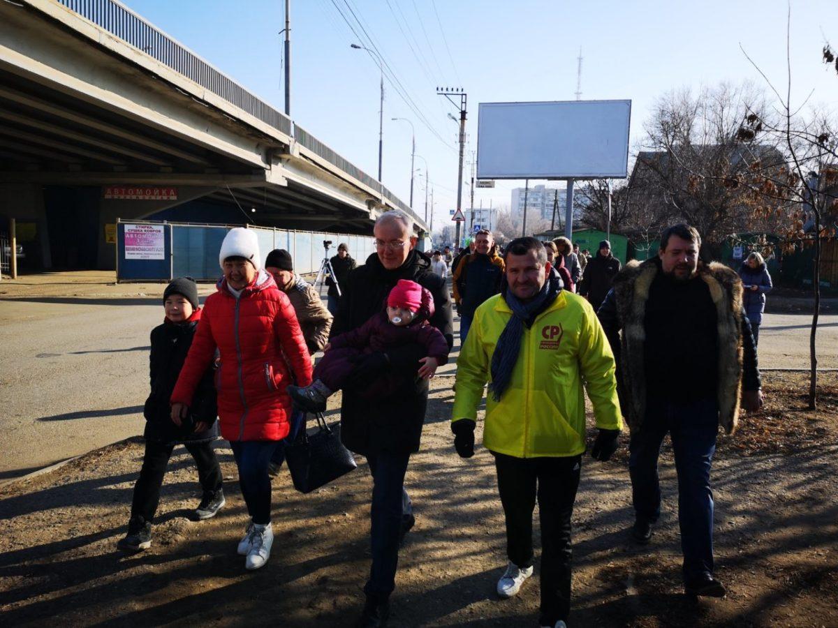 В Астрахани впервые за три года прошла массовая народная демонстрация