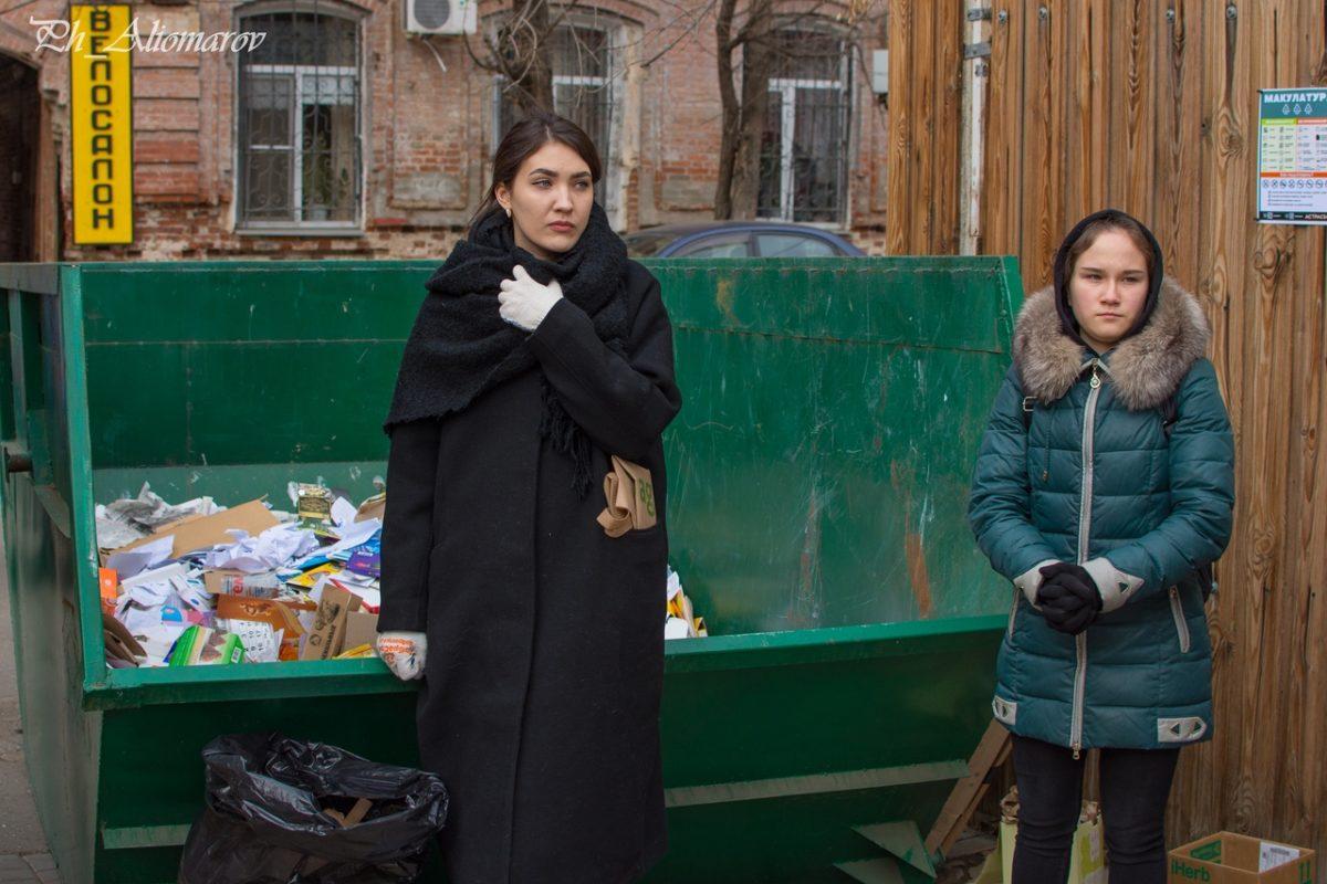 Региональный оператор «ЭкоЦентр» принял участие в акции по приему вторсырья «Астрасбор».