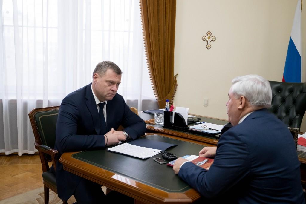 Игорь Бабушкин ознакомился с работой по защите прав астраханцев