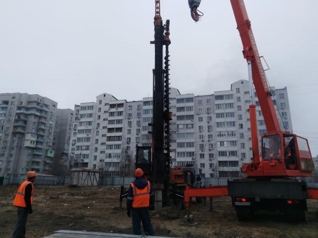 В Астрахани начали строить 17-этажный дом для переселенцев из ветхого жилья