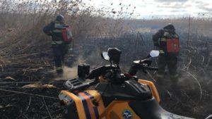 В МЧС рассказали о новых методах борьбы с пожарами в дельте Волги